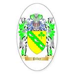 Pilley Sticker (Oval 50 pk)