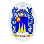 Pillet Oval Ornament