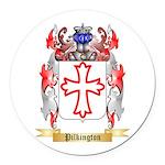 Pilkington Round Car Magnet