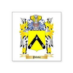 Piletic Square Sticker 3
