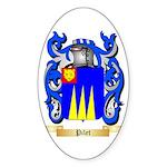 Pilet Sticker (Oval 50 pk)