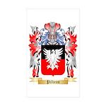 Pilbean Sticker (Rectangle 50 pk)