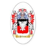 Pilbean Sticker (Oval 10 pk)