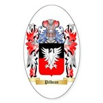 Pilbean Sticker (Oval 50 pk)