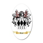 Pigot 20x12 Oval Wall Decal