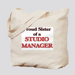 Proud Sister of a Studio Manager Tote Bag