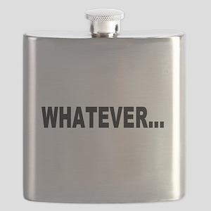 Whatever, black Flask