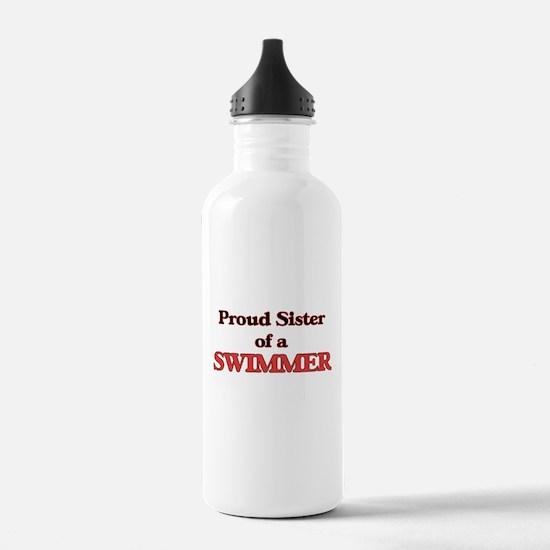 Proud Sister of a Swim Water Bottle