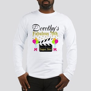 CUSTOM 70TH Long Sleeve T-Shirt