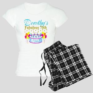 CUSTOM 70TH Women's Light Pajamas