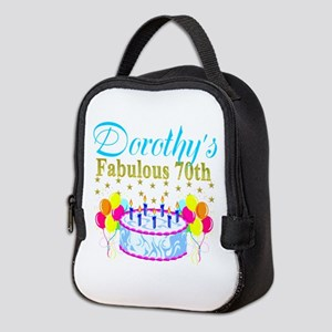 CUSTOM 70TH Neoprene Lunch Bag