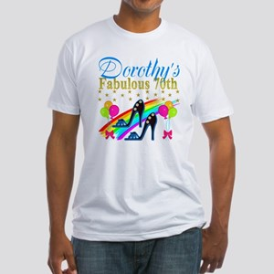 CUSTOM 70TH Fitted T-Shirt