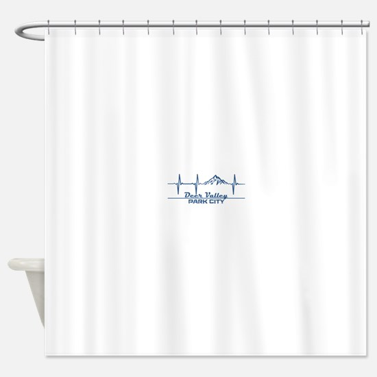 Deer Valley - Park City - Utah Shower Curtain