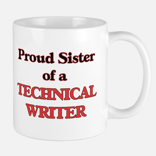 Proud Sister of a Technical Writer Mugs