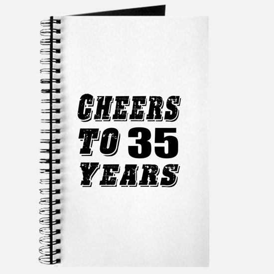 Cheers To 35 Journal