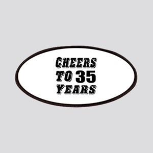 Cheers To 35 Patch