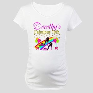CUSTOM 70TH Maternity T-Shirt