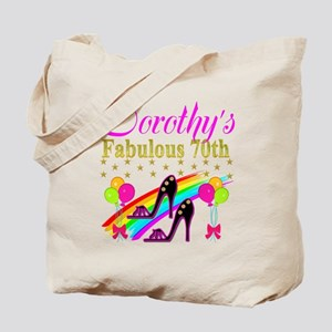 CUSTOM 70TH Tote Bag