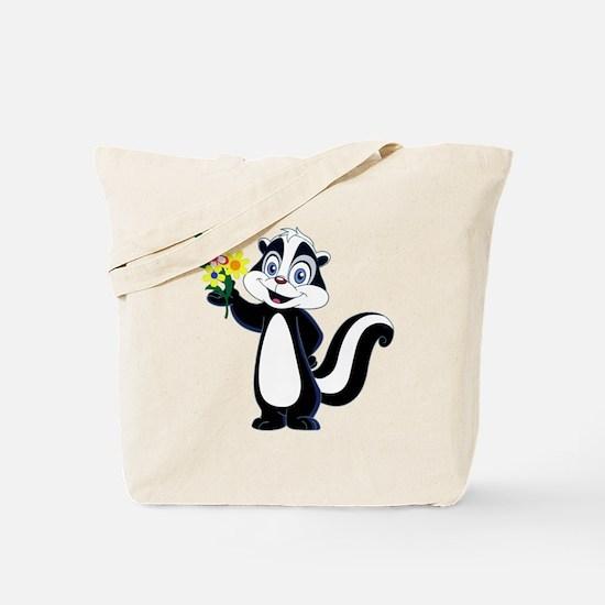 Unique Skunk Tote Bag