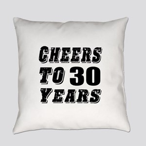 Cheers To 30 Everyday Pillow
