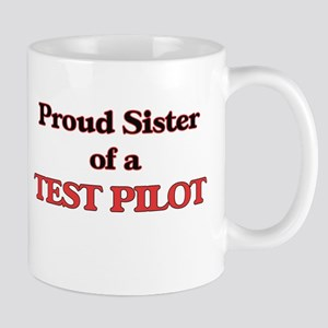 Proud Sister of a Test Pilot Mugs