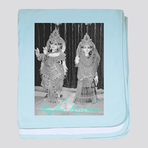 Radha Krishna baby blanket