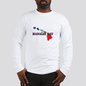Hanalei Bay Hawaii Long Sleeve T-Shirt