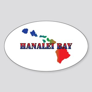 Hanalei Bay Hawaii Sticker