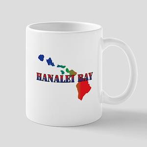 Hanalei Bay Hawaii Mugs
