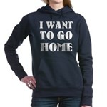 I Want To Go Home Women's Hooded Sweatshirt