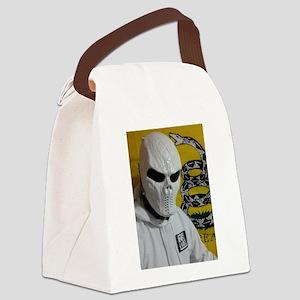 FFFingWhiteMale Canvas Lunch Bag