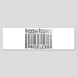 Rhodesian Ridgeback Dog owner Bumper Sticker