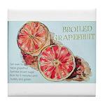 Broiled Grapefruit Tile Coaster