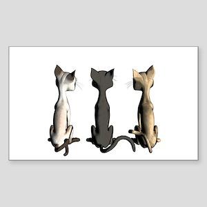 Cute cartoon cats Sticker
