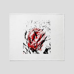 red sun 2 Throw Blanket
