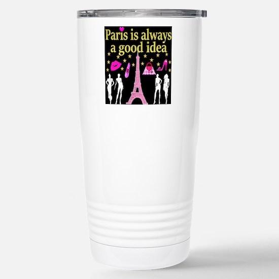 LOVE PARIS Stainless Steel Travel Mug