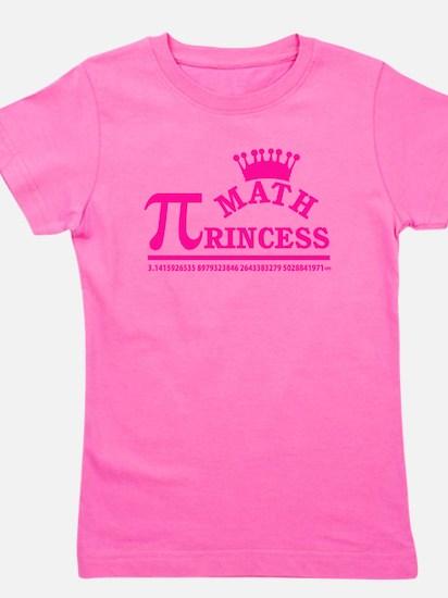 Math Princess Girl's Tee