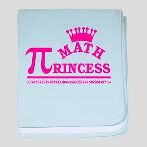 Math Princess baby blanket