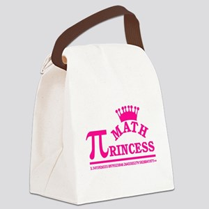 Math Princess Canvas Lunch Bag