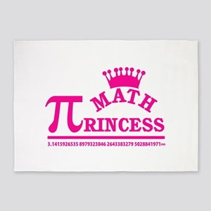 Math Princess 5'x7'Area Rug