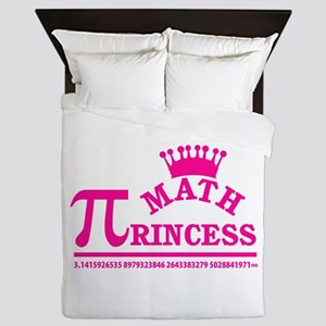 Math Princess Queen Duvet