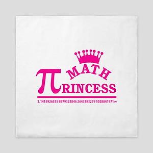Math Princess Queen Duvet