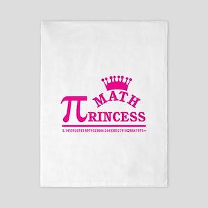 Math Princess Twin Duvet