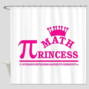 Math Princess Shower Curtain