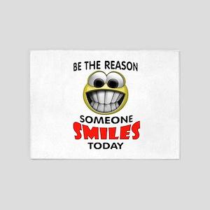 SMILES 5'x7'Area Rug