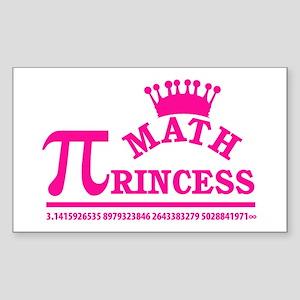 Math Princess Sticker