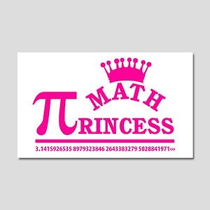 Math Princess Car Magnet 20 x 12