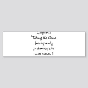Support Bumper Sticker