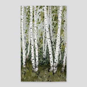 Birch Trees Area Rug