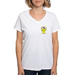 Piggrem Women's V-Neck T-Shirt